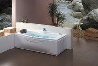 Wholesale CUPC certificate Sea freight whirlpool bathtub and acrylic ABS composite board rectangular popular massage tub W4007