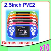 video games - DHL New PVE Handheld Pocket bit Video Games Player System Console Game Card ZY PVE2