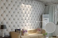 modern sofa leather - 10 meter Faux leather soft bag d wallpaper PVC white bedside sofa tv background wall wallpaper papel de parede