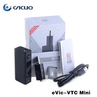 Wholesale Authentic Joyetech Evic VTC Kit Evic VT Mini E Cigarette With Ego One Mega Tank Evic VT Temp Control Mods