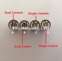 Cheap Dual Wax Atomizer Best Dual Wax Coil Head