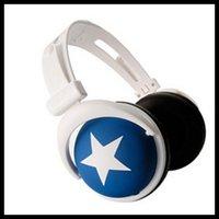 big earphones - fashion Big star earphone headphone For MP4 MP3 Phone Laptop Great timbre T0122