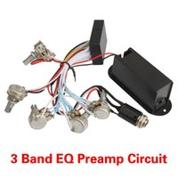 bass active preamp - off per order Band EQ Preamp Circuit For Active Bass Pickup