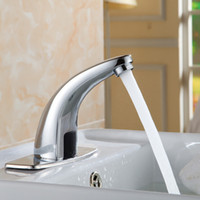 basin electric - Automatic inflared Sensor water saving Faucets Inductive Kitchen bathroom Basin Sink electric Water Tap cold water A CS002
