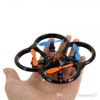 Wholesale Super Mini rc Quadcopter High Precision G Ch Axis Gyroscope Drone U207 degree stunt roll over RC Helicopte gifts toys for children