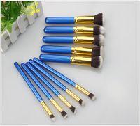 Wholesale 200set High Quality Pieces Professional Makeup Brush Set Kit Brushes Advance Fiber Hair Makeup Brushes wood Stick Colors