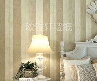 wooden crates - 3D Wooden Crate Stripes of Wall paper Non woven Textured Wallpapers Nostalgic Vintage wall paper For Kids room home improvement