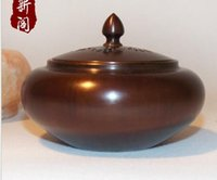 Wholesale 9 cm x cm Smoked Incense Burner of Pure Copper Incense Furnace Sue Brass Smoked Incense Burner Fragrance Lamps