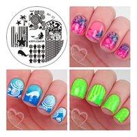 arts themes - Ocean Theme Nail Art Stamp Template Image Plate BORN PRETTY BP23