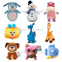 bean pets - Original Doc Mcstuffins Toys Beans Collection Plush Chilly Boppy Dog Gabby Giraffe Pet Vet Whispers Cat Findo Squeaker Squibbles