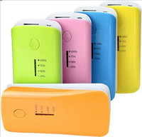 Wholesale 5600 mah Power Bank mah Universal Portable External Emergency Backup Battery Charger for All Mobile Phone with USB LED Indicator