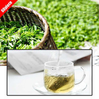 benefit chinese tea - Gift LongJing tea AAAAA tea bag piece Chinese Green Tea infuser New green tea health benefits Green Food slimming tea LJ8