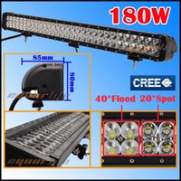 Wholesale High Quality Eyourlife W inch Led CREE Spot Flood Combo Work Bar Driving Light Lamp Off Road WD X4 Boat UTE SUV