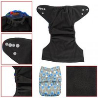 Wholesale hot sale printed aio reusable kawaii Bamboo Charcoal cloth diaper covers for boys and girls covers Inserts