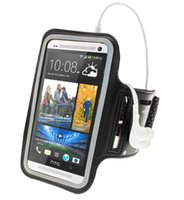 bb holders - Running Sports Gym Armband Case Cover Pouch Holder for HTC ONE M7 Arm Band Case BB
