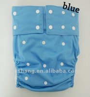 Wholesale washable fashion adult cloth diaper pants in personal care new style nappy insert as sample