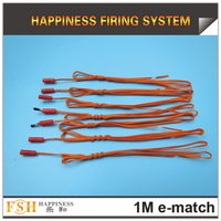 Wholesale pieces Meter fireworks igniter electric match electirc igniter for fireworks display
