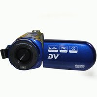Wholesale New DV E6 digital video camera recorder quot TFT HD display X digital zoom million pixels fps HD lithium battery