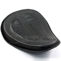 Wholesale 2015 Motorcycle Cushion Black Leather Solo Seat Fits For Harley Sportster XL883 C20