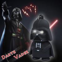 Wholesale Hot Sales LED Star Wars Darth Vader Keychains with Sound Light Lamp Flashlight Keychain Black Star wars LED Keyrings