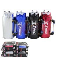 engine oil - Xpower Universal mm D1 Turbo Engine Oil Catch Tank Can Reservoir Performance Silver Black Red Blue