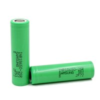 Wholesale Authentic Samsung INR18650 R Battery mAh A V Battery High Drain Battery Cell Lithium R Battery A DHL