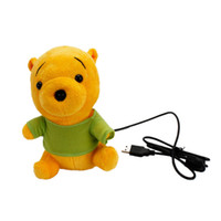 bear ccd - MP Cartoon Bear Design Toy Style USB PC Webcam Web Camera