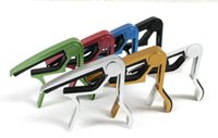 banjo tuning - Mix Universal Acoustic Electric Tune Quick Change Trigger Folk Acoustic Capos Electric Guitar Banjo Trigger Capo Key Clamp