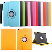 apple ipad case - 360 Rotating Leather Stand Flip Case For Apple Ipad mini mini mini Ipad air Ipad air2 Samsung Tab S2 T815 T715 Cover