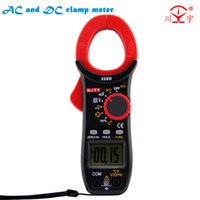 ac voltage capacitor - D AC and DC current and voltage clamp meter measuring temperature frequency capacitor clamp multimeter