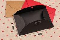 Wholesale 10pcs High End Texture Matte Paper Envelope Kraft Paper Envelopes For Invatation Letter cm Online