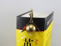 Wholesale 1PC Steampunk Harry Potter Magical Snitch Bookmark Locket Alloy bookmark Friendship Gift Best Friends Forever