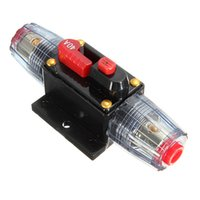 Wholesale DC V Car Stereo Audio Circuit Breaker Inline Fuse AMP A