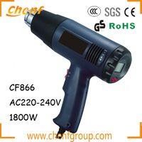 Wholesale PC W LCD Digital Display Electric Hot Air Gun Professional Hot Gun Tool Thermostat heat gun nozzles