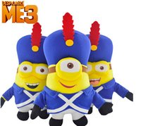 band dolls - Despicable Me plush toys doll Creative band yellow man doll soft stuffed toys for children s toys and gifts