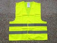 Wholesale Safety Vest New reflective safety vest reflective safety vest coat Sanitation vest Traffic safety warning clothes vest dhl fedex free shippi