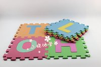abc foam letters - 26 letters alphabet pattern eco friendly floor mats soft and good feeling puzzle foam play ABC letters mats for baby