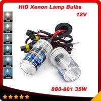 achat en gros de xenon hid kit 35w dc-Automobile Phare Xenon HID Kit de Conversion DC 12V 35W 880 881 4300K-12000K Voiture Hid Xenon Kit hid Blub Lampe livraison gratuite
