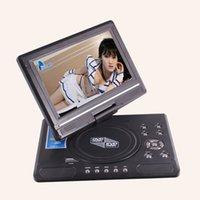 Electrónico 9.8 pulgadas DVD portátil EVD TV 270 giratorio Widescreen VCD CD MP3 / 4 SD USB JUEGO SWIVELFlip Mobile TV