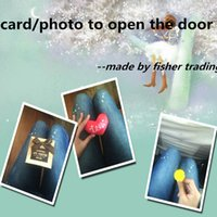 Wholesale escape chamber game prop card to open the door photo or objects in sequence to open the lock