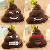 Wholesale Cute Funny Emoji Poo Shape Pillow Cushion Toy Doll Sofa Decoration Xmas Gift Birthday Bedding Outdoor Chair Home
