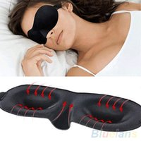 Wholesale Sleeping Eye Mask Blindfold with Earplugs Shade Travel Sleep Aid Cover Light guide Rest D Blinder Shade Sale Safety AG OBQ