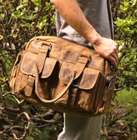 leather duffel bags - brand new crazy horse leather superior hot sales Leather Inch Duffel Bag with Pockets and retail welcome
