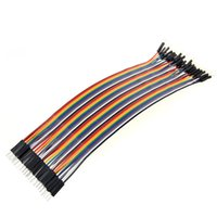 Wholesale New cm mm male to male female to female male to female Dupont line Color ribbon cable p p breadboard wire for Arduino