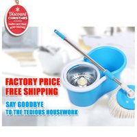 spin mop - Cheap portable stainless pole High quality hand press degree spin easy magic mop for floor cleaning rotating mop jj tb