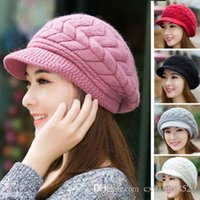 Cheap Women Lady Winter Fashion Warm Hat Knitted Crochet Slouch Baggy Beanie Cap New