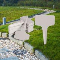 Wholesale 50pcs x10cm Plastic Plant T type Tags Markers Nursery Garden Labels