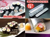 Cheap Free Shipping Sushi Long Roll Rice Maker Mould Roller Bento Mold DIY Kitchen Tool