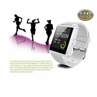 Wholesale U8 Bluetooth Smart Digital Wrist Healty Watch Phone Mate For Android IOS Iphone Samsung LG Sony Smartphones Factory Direct Sale W01