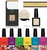 Wholesale Nail Gel colors ml Gelish Nail Polish UV Gel Soak Off Gel Polish Nail Lacquer Varnish Brand New Long lasting Colors MU